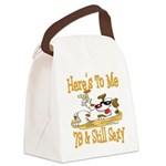 DogToast79.png Canvas Lunch Bag