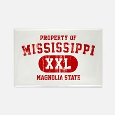 Property of Mississippi the Magnolia State Rectang