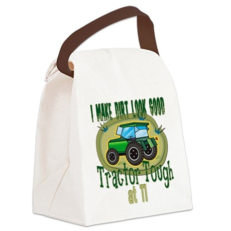 Tractor Tough 11.png Canvas Lunch Bag