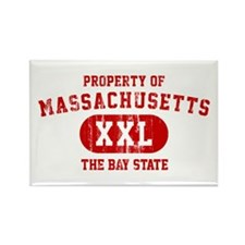 Property of Massachusetts the Bay State Rectangle