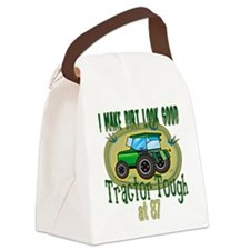 Tractor Tough 87.png Canvas Lunch Bag