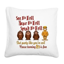 partyevil89.png Square Canvas Pillow