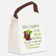 WhatHappens55.png Canvas Lunch Bag