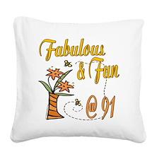 FabulousFun91.png Square Canvas Pillow