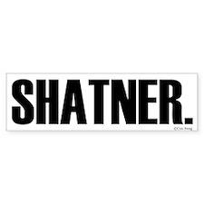 Shatner Bumper Bumper Sticker