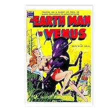 Earth Man On Venus Postcards (Package of 8)