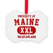 Property of Maine the Vacationland Ornament