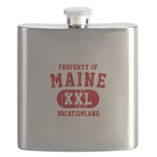 Property of Maine the Vacationland Flask