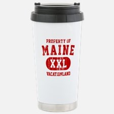 Property of Maine the Vacationland Travel Mug