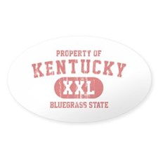 Property of Kentucky the Bluegrass State Decal