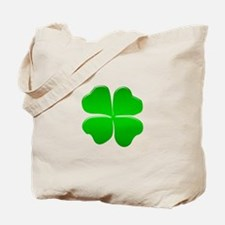 Irish Clover Tote Bag