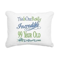 IncredibleGreen99.png Rectangular Canvas Pillow