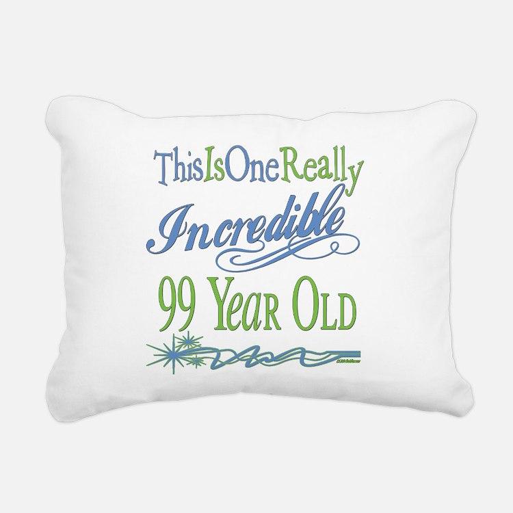 IncredibleGreen99.png Rectangular Canvas Pillow