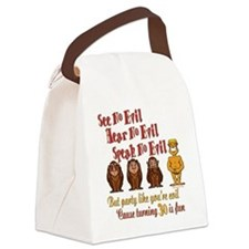 partyevil30.png Canvas Lunch Bag