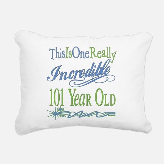 IncredibleGreen101.png Rectangular Canvas Pillow