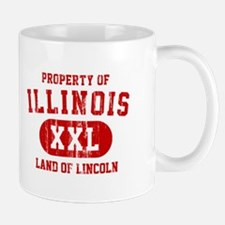Property of Illinois the Land of Lincoln Mug