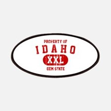 Property of Idaho the Gem State Patches