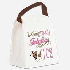 FabPinkBrown102.png Canvas Lunch Bag