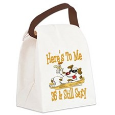 DogToast35.png Canvas Lunch Bag