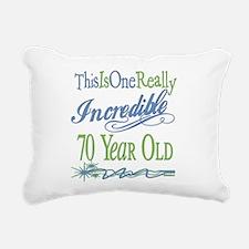 IncredibleGreen70.png Rectangular Canvas Pillow