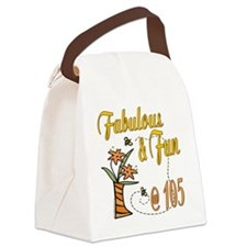 FabulousFun105.png Canvas Lunch Bag
