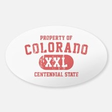 Property of Colorado, The Centennial State Decal