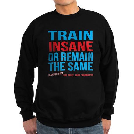 Mens Train Insane Or Remain The Same Sweatshirt (d