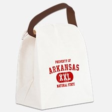 Property of Arkansas The Natural State Canvas Lunc