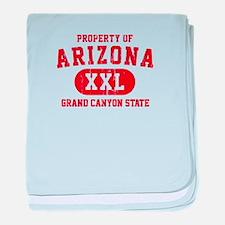 Property of Arizona, Grand Canyon State baby blank