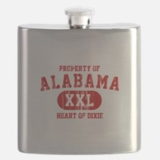 Property of Alabama, Heart of Dixie Flask