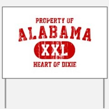 Property of Alabama, Heart of Dixie Yard Sign