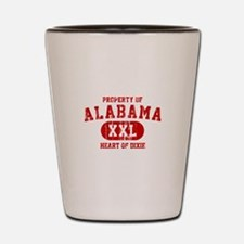 Property of Alabama, Heart of Dixie Shot Glass