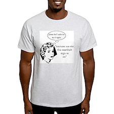 Seatbelt Ash Grey T-Shirt