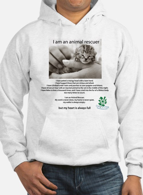 I am an Animal Rescuer Hoodie