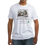 I am an Animal Rescuer Fitted T-Shirt
