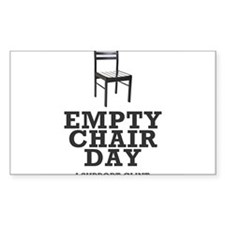 Empty Chair Day. I support Clint Decal