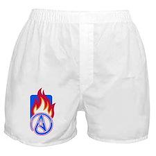 Atheist Sport Flame Boxer Shorts