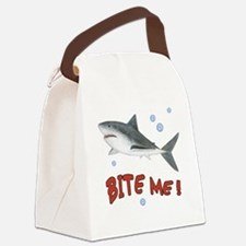 Shark - Bite Me Canvas Lunch Bag
