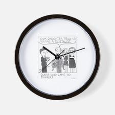 Dinner Guest Wall Clock