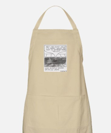 Blindfold Scooter BBQ Apron