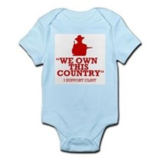 We Own This County - Clint Eastwood Infant Bodysui