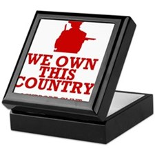 We Own This County - Clint Eastwood Keepsake Box