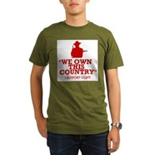 We Own This County - Clint Eastwood T-Shirt