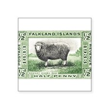 """Falkland islands Square Sticker 3"""" x 3"""""""