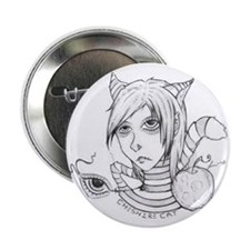 """Cheshire Cat 2.25"""" Button (10 pack)"""