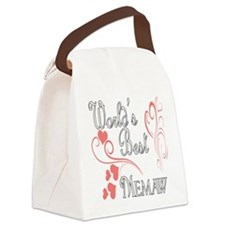 Hearts Memaw copy.png Canvas Lunch Bag