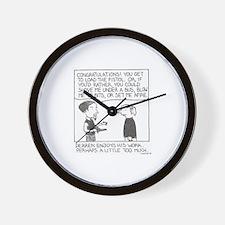 Derren Wall Clock