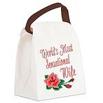 SensationalWife.png Canvas Lunch Bag