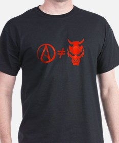 Atheist Does Not Equal Satanist T-Shirt