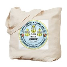 US Navy Chief Tote Bag